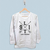 Long Sleeve T-shirt - One Direction Louis Tomlinson 1D