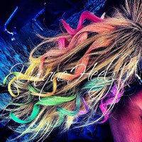 Easy DIY HAIR CHALK Soft Pastels   Temporary Hair by UniqueHeelz