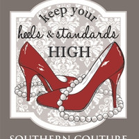 Southern Couture High Heels Tee