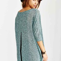 Silence + Noise Split-Back Pullover Sweater-