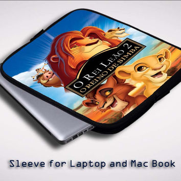 Disney The Lion King Z0703 Sleeve for Laptop, Macbook Pro, Macbook Air (Twin Sides)