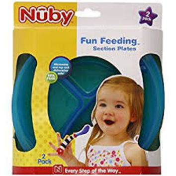 Fun Feeding™ Section Plate 2-pk