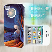unique iphone case, i phone 4 4s 5 case,cool cute iphone4 iphone4s 5 case,stylish plastic rubber cases cover, abstract elegant blue bp2921