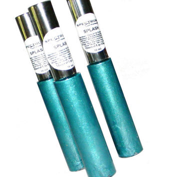 SPLASH Teal Blue Lip Gloss 10 ml Tube