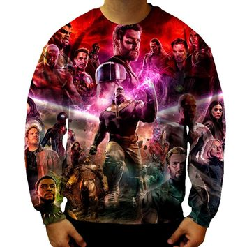 Infinity War Thanos Sweatshirt