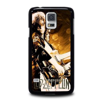 led zeppelin samsung galaxy s5 case cover  number 1