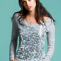 The Embellished Baseball Tee - Dream Tees - Victoria's Secret