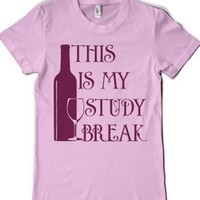 Light Pink T-Shirt | Funny Drinking Shirts