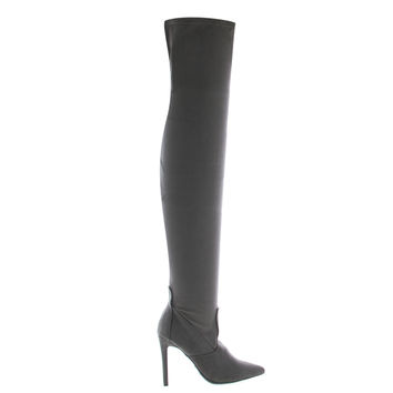 Riseup54S By Anne Michelle, Pull On OTK Thigh High Over Knee High Heel Dress Boots