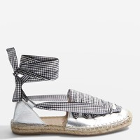 KING Lace Up Espadrilles - Shoes