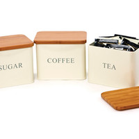 Rectangular Storage Tins, Set of 3, Storage Boxes & Bins
