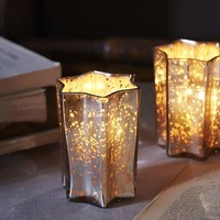Star Votive Holder, Set of 3