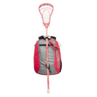 Maverik Girls Youth Lacrosse Starter Set in Pink | Lacrosse Unlimited