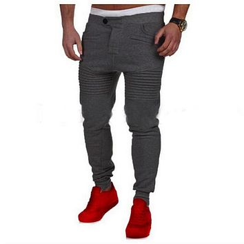 2017 NEW arrival autumn fashion joggers slim fit pants men pantalons homme sweatpants harem sweat pants men pantacourt hombre