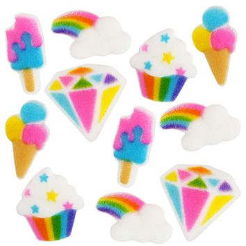 Rainbow Charm Party Sugars