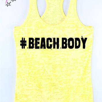 # Beach Body Workout Tank Top