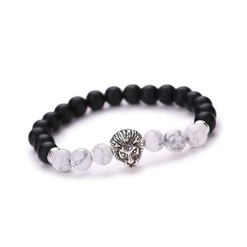 Black & White King of Jungle Bracelet
