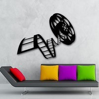 Wall Stickers Vinyl Decal Reel Of Film Cinema Film Decor For Living Room ig1606