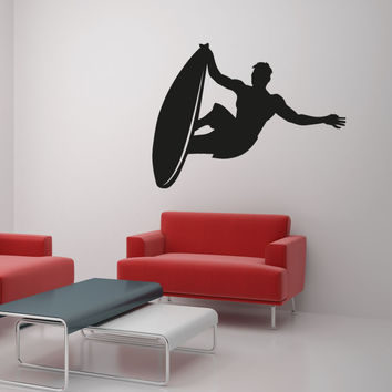 Vinyl Wall Decal Sticker Hang Ten #OS_AA1230