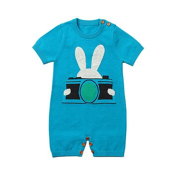 Blue Rabbit Photography Baby T-shirt Onesuits