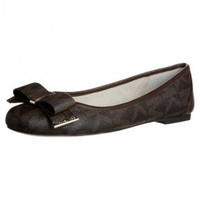 mk/ballet flat with bows brown - Google Search