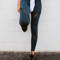 Let's Move Leggings (Teal)