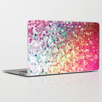 sequin pretty; Laptop & iPad Skin by Pink Berry Patterns