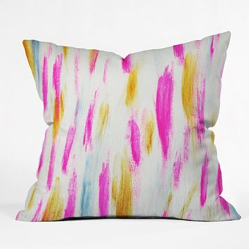 Allyson Johnson Brushed Brightly Throw Pillow