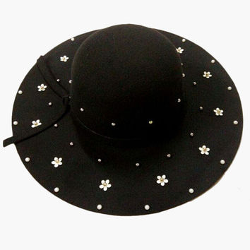 Daisy Summer Hats - 10 Colors to Choose From