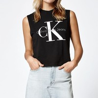 Calvin Klein Reissue Logo Muscle Tank Top at PacSun.com
