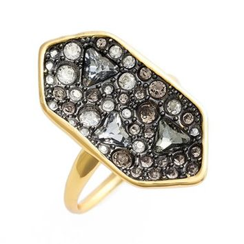 Alexis Bittar Crystal Shield Ring | Nordstrom