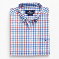 Porthole Check Tucker Shirt