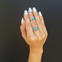 Evil Eye Nazar Ring