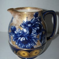 Doulton  pitcher  antique Doulton Iris  jug burslem jug
