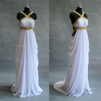 attractive sexy prom dess,evening dress,long prom dress,white prom dress,formal dress,party dress