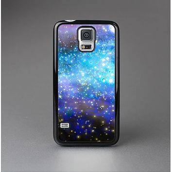 The Glowing Space Texture Skin-Sert Case for the Samsung Galaxy S5