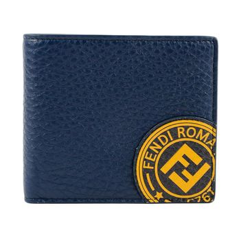 Logo Stamp Wallet by Fendi