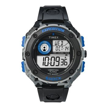 Genuine Timex Expedition Vibe Shock Camo TW4B00300 Gents Watch Chronograph