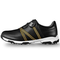 New 2017 Men Golf Shoes Genuine Leather Anti-skid Waterproof Breathable Sports Sneakers