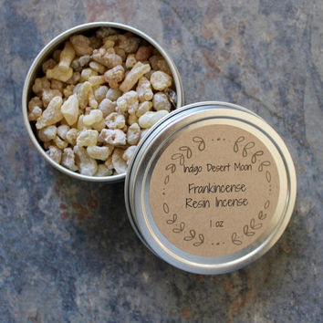 Frankincense Resin Incense, Frankincense Tears, Boswellia Sacra, Ritual Incense, Natural Incense, Loose Resin Incense, Yule Incense Resin