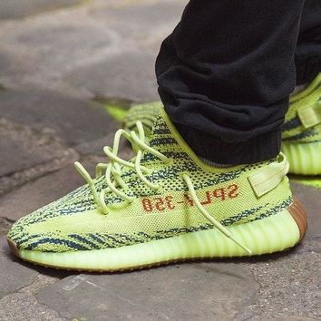 "adidas Yeezy Boost 350 V2 ""Semi Frozen Yellow"" - Best Deal Online"