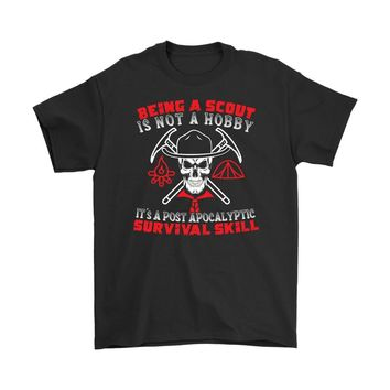 Funny Scout Shirt Being A Scout Is Not A Hobby Gildan Mens T-Shirt