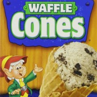 Keebler Ice Cream Waffle Cones, 12-Count Cones (Pack of 6)