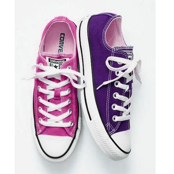 Converse Fashion Canvas Flats Sneakers Sport Shoes Low tops-2