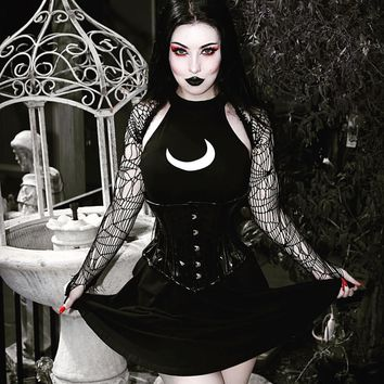 The Crescent Moon Witch Dress