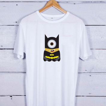 batman minions Tshirt T-shirt Tees Tee Men Women Unisex Adults