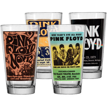 Pink Floyd Pub Glass Set