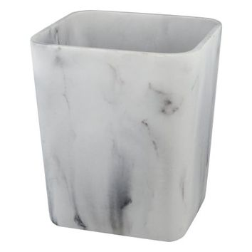 Better Home and Gardens Faux Marble Waste Can - Walmart.com