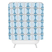 Caroline Okun Perimeter Shower Curtain