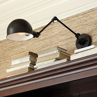 Jordan Adjustable Wall Sconce | Ballard Designs